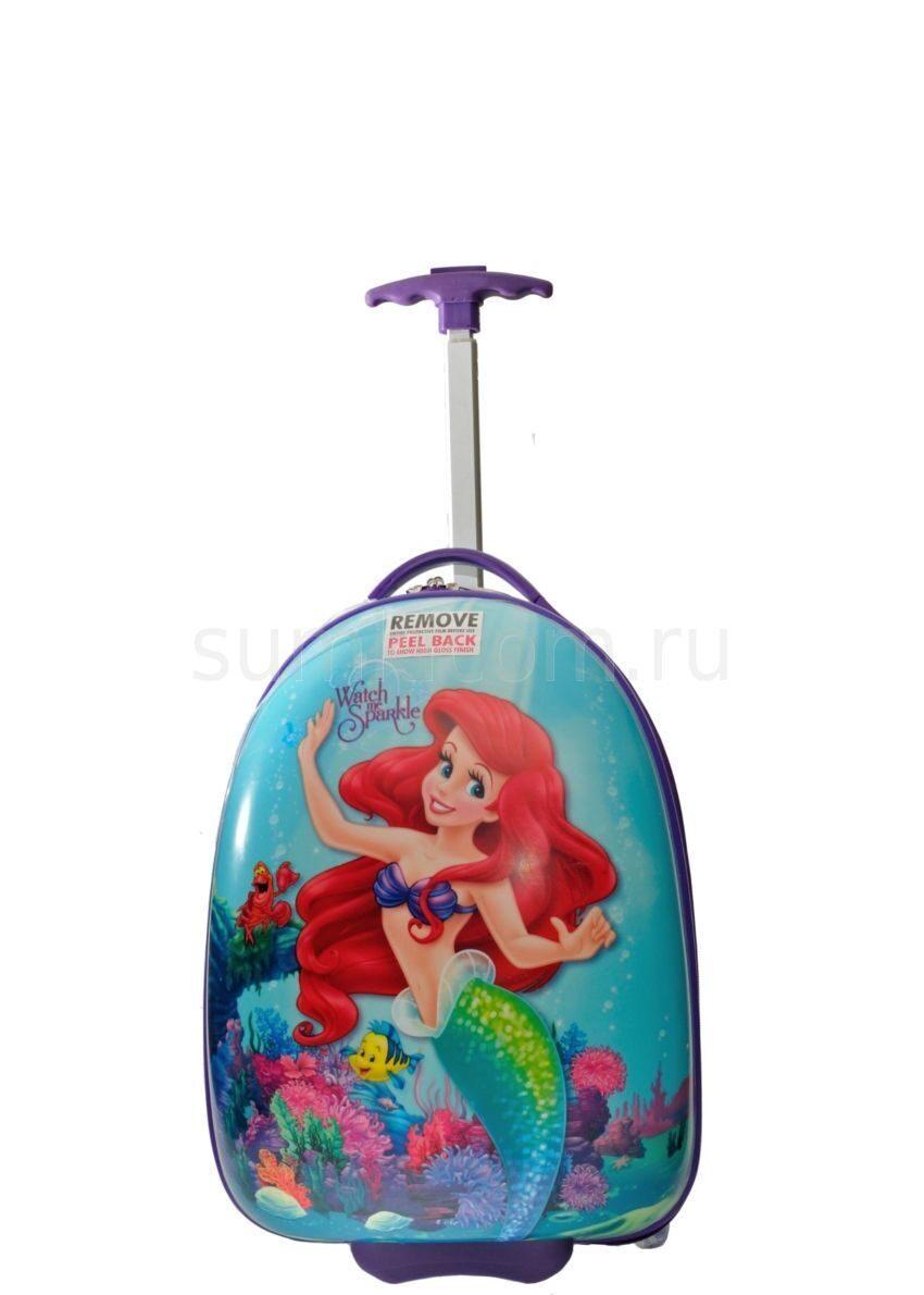 d70a2bb2cc74 Детский чемодан, DISNEY, русалка Чемоданы для девочек Детские ...