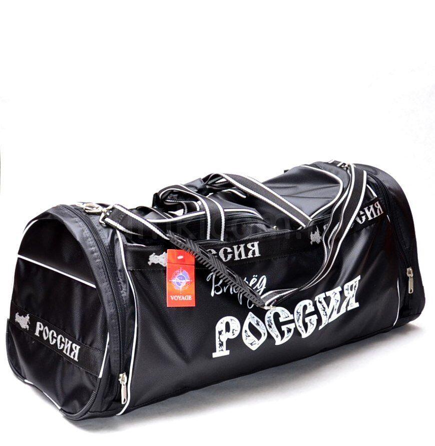 4de1db21ce69 Большая спортивная сумка, вперед Россия, чёрная Дорожные сумки ...